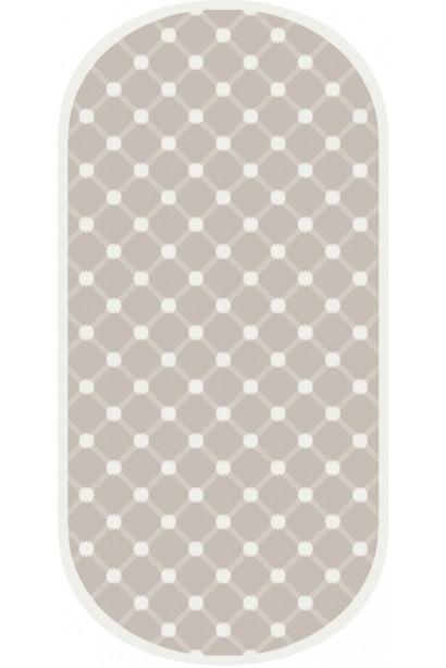 Oval Shape Hand Tufted Carpet..