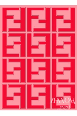 HT MA 0027 COLOR RED/FENDI SIZE 2.4*3.2